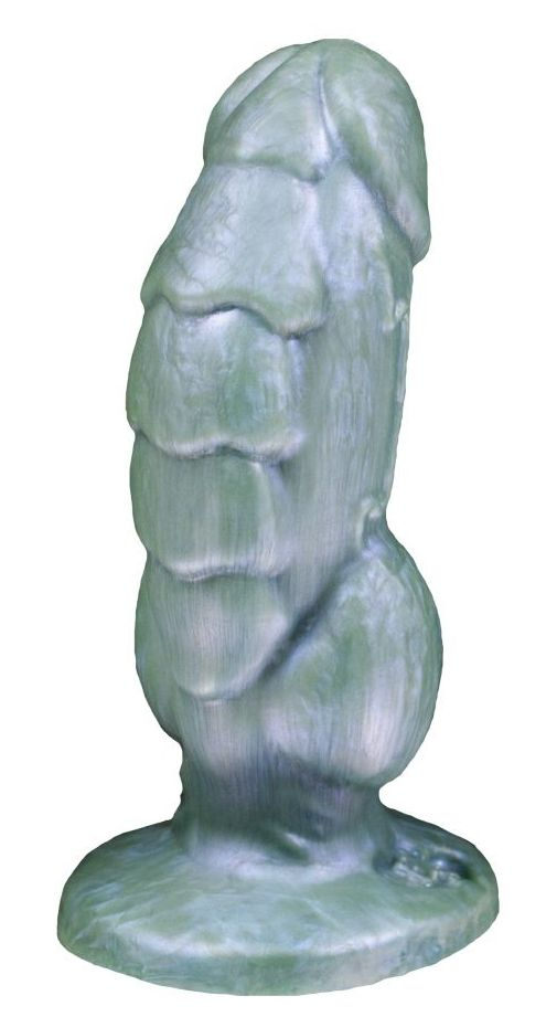 Голубой фаллоимитатор Мартин mini - 17 см.