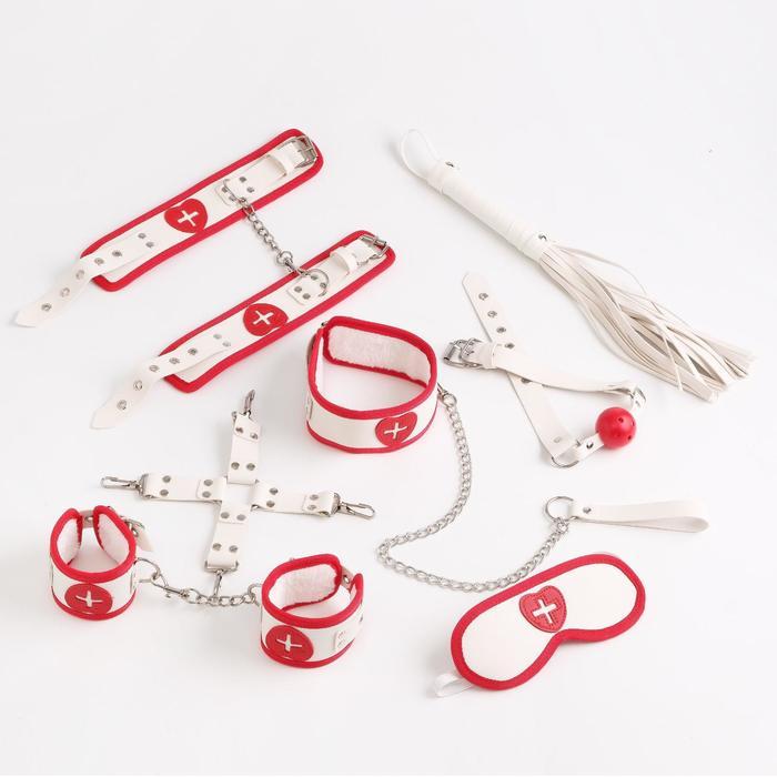 Эротический набор Медсестричка из 8 предметов